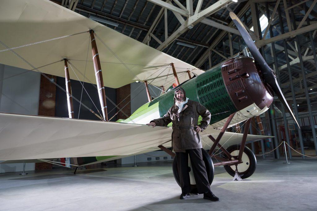 Salmson 2A2 - Hangar