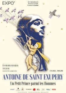 Affiche Antoine de Saint-Exupéry Un petit Prince parmi les Hommes - Toulouse