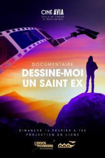 Affiche projection Dessine Moi un saint Ex